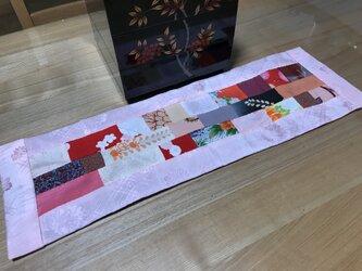 ヴィンテージ着物からテーブルセンター 新春の装いの画像