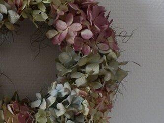 atelierBLUGRA八ヶ岳〜秋の紫陽花Wreathの画像
