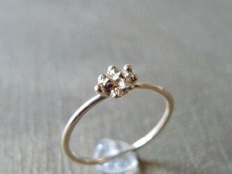 溶解リング K10 イエローゴールド 10金 指輪 K10YGの画像
