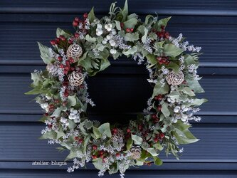 atelierBLUGRA八ヶ岳〜ミントのWreath01の画像