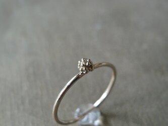 ミモザひとつぶリング K10 イエローゴールド 10金 指輪 K10YGの画像