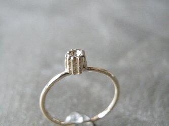 カヌレリング K10 イエローゴールド 10金 指輪 K10YGの画像