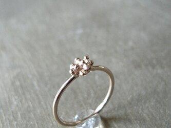 溶解リング K14 ピンクゴールド 14金ピンクゴールド 指輪の画像