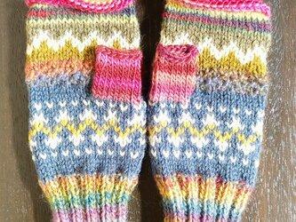 手編み手袋 #2の画像