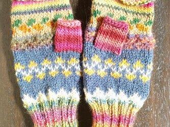 手編み手袋 #3の画像