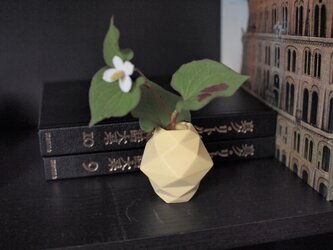 origami一輪挿し(イエロー)の画像