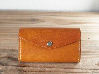 じゃばらマチのミニ財布(ブラウン)の画像