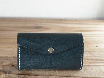 じゃばらマチのミニ財布(ネイビー)の画像