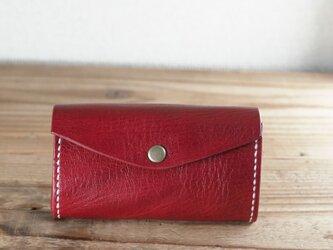 じゃばらマチのミニ財布(ワイン)の画像