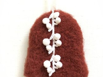鍵のセーター キーケース   ミルクチョコレートの画像