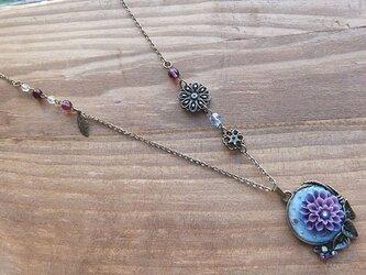 水の花 ネックレスの画像