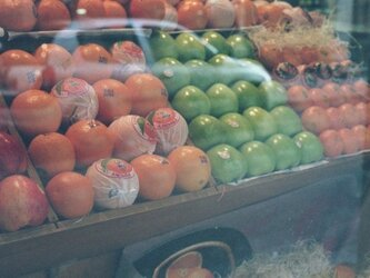 【額付写真】果物たちの画像