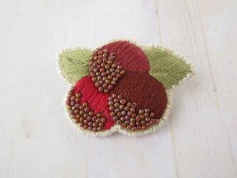 Brooch ビーズ刺繍 (K0974)の画像