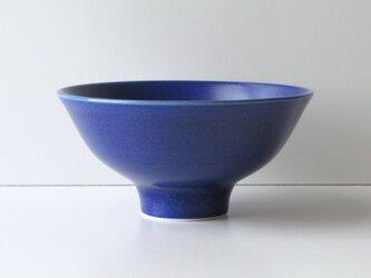 ご飯茶碗 ブルーの画像