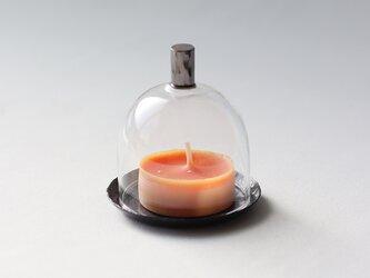 ミニミニガラスドーム [ 黒染 ]の画像