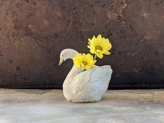 白鳥花器の画像