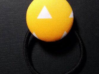 HB-Z-000 手作り くるみ ボタン ヘアゴム 髪留め 髪飾り 鱗 文様 かわいい おしゃれの画像