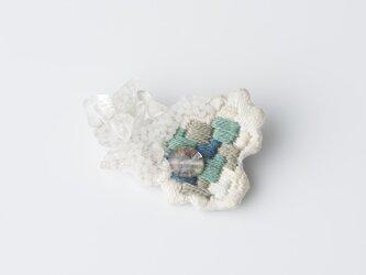 crystallize/刺繍ブローチの画像