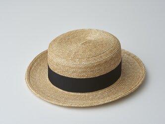 ストローカンカン帽 Sサイズの画像