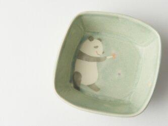 パンダ角小鉢の画像