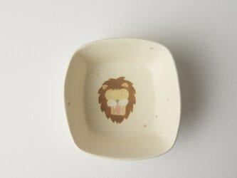 ライオン角小鉢の画像