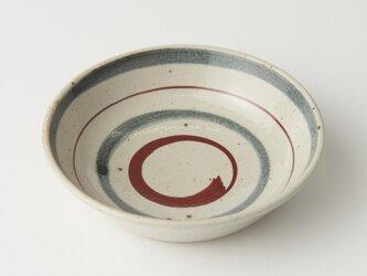灰釉絵付五寸鉢(二色、ふぞろい)の画像