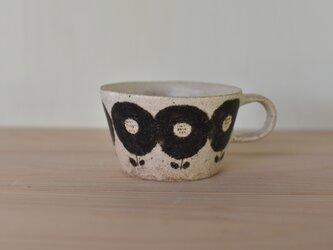 台形マグカップ小〜鉄flower〜の画像