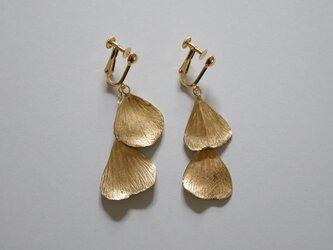Foetidas earring K18GDplateの画像