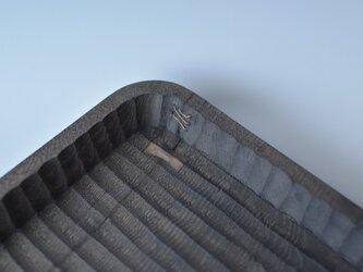 鉄染めの我谷盆の画像