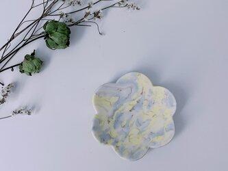 練り込み花豆皿の画像