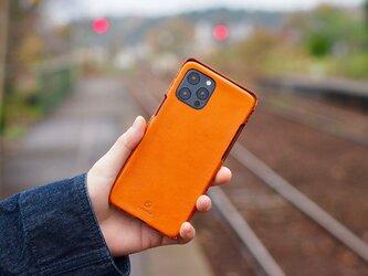 Leather handmade case  /  iPhone 12シリーズ:【カラー】キャメルの画像