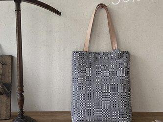 [K様専用ご注文品]  手織り手提げバッグ *他の方はご購入できませんの画像
