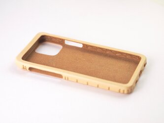 Leather handmade case  /  iPhone 12シリーズ:【カラー】ナチュラルの画像