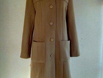 ウール コートの画像