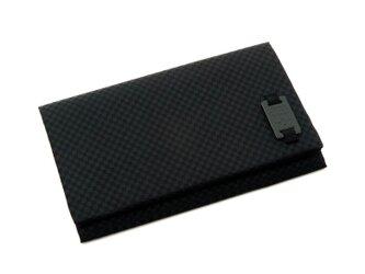 メンズふくさ(ハードタイプ) ブラック SFN05-01の画像