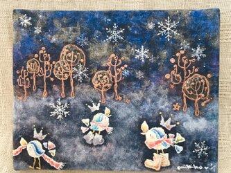 アートパネル・winter song 〜semifreddoの画像