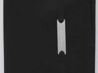 コンパクトふくさ(ノワール) ブラック SFN07-04の画像