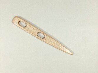 ノールビンドニング針 極太 木の針 カシの木の画像