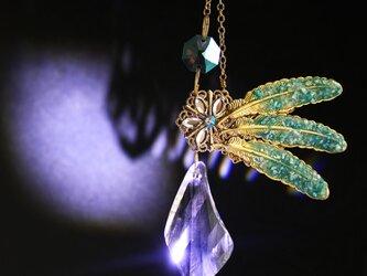 Bird Wing ~翼のサンキャッチャー ☆ Swarovski Crystal使用の画像