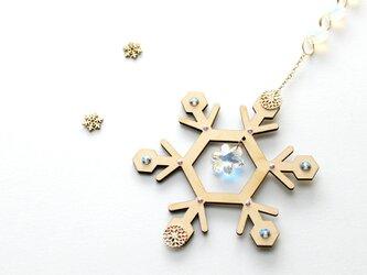 ~雪の結晶~ 六華のサンキャッチャー ☆ Swarovski Crystal使用[数量限定]の画像