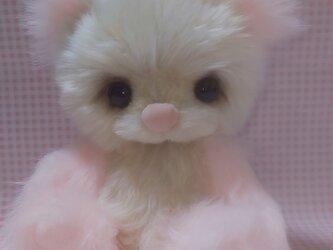 ふわふわぬいぐるみ☆ミルキーベア☆ピンク☆ゆめかわの画像