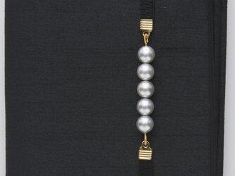 コンパクトふくさ(ブリアン) ブラック SFB08-03 袱紗の画像