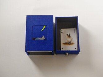 リネン小箱 「 月夜 」の画像