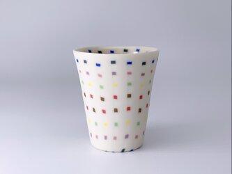 練り込みカップ(s) dotsの画像