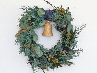 季節のリース クリスマスの画像