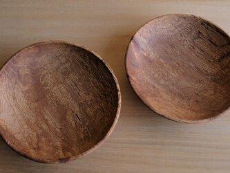 クヌギ・浅鉢 2客セットの画像
