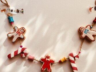 クリスマスガーランドの画像