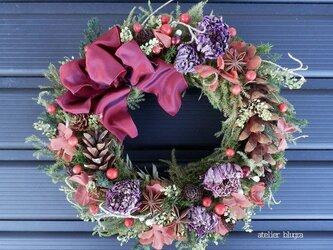 atelier blugra八ヶ岳〜ChristmasWreath26の画像