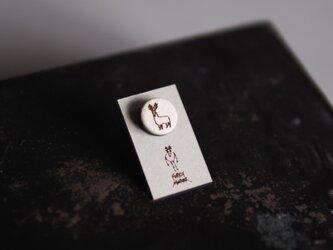 FORESTMONSTER DRAW PIN  径12mm ミニピンブローチ <F24>の画像