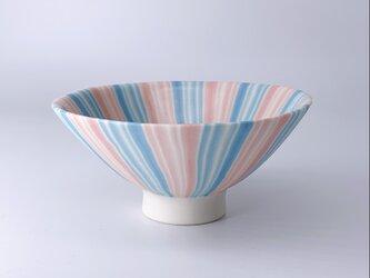 練り込み碗 stripeの画像